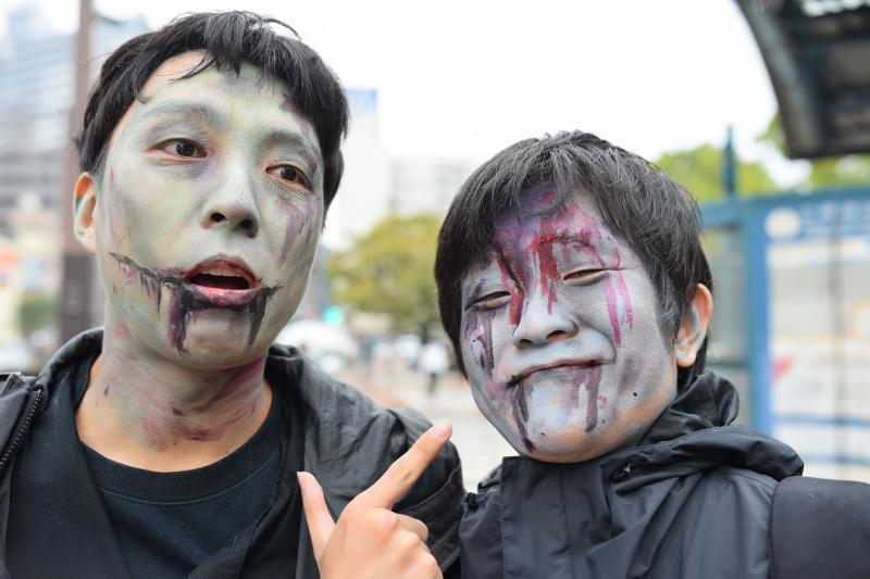 広島フェイスペイント組合-横川ゾンビナイト3-1028-0046