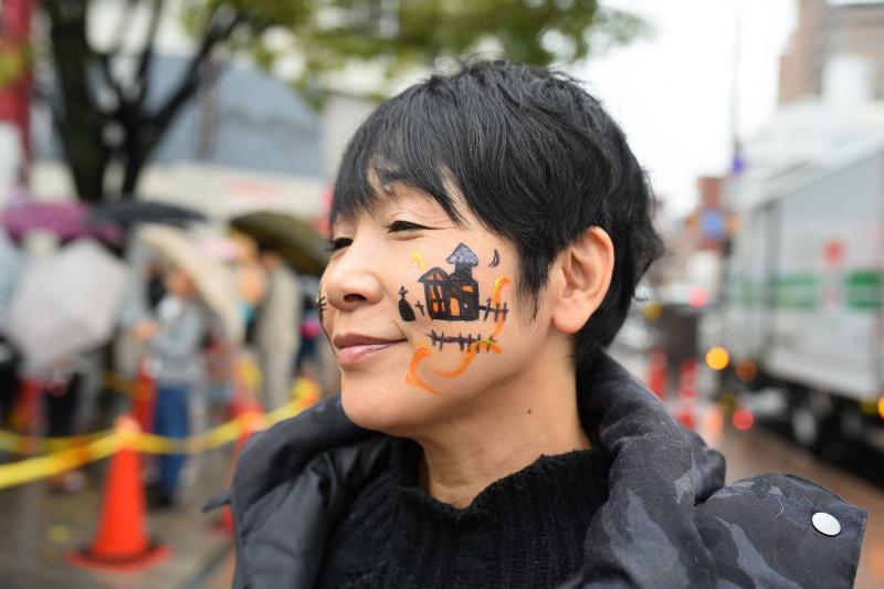 広島フェイスペイント組合-横川ゾンビナイト3-1028-0048