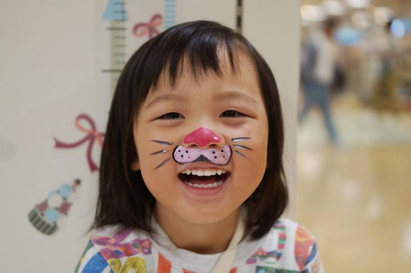 広島フェイスペイント組合-天満屋広島緑井店-ハロウィンキッズ2017-0004