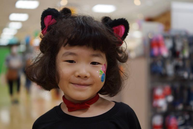 広島フェイスペイント組合-天満屋広島緑井店-ハロウィンキッズ2017-0005