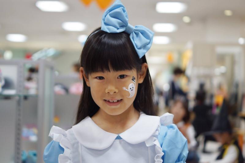 広島フェイスペイント組合-天満屋広島緑井店-ハロウィンキッズ2017-0012