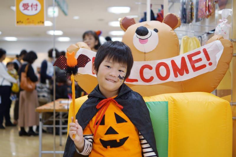 広島フェイスペイント組合-天満屋広島緑井店-ハロウィンキッズ2017-0013