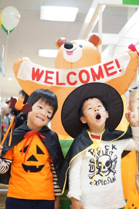 広島フェイスペイント組合-天満屋広島緑井店-ハロウィンキッズ2017-0014