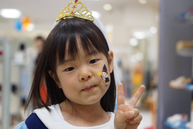 広島フェイスペイント組合-天満屋広島緑井店-ハロウィンキッズ2017-0015