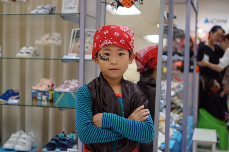 広島フェイスペイント組合-天満屋広島緑井店-ハロウィンキッズ2017-0020