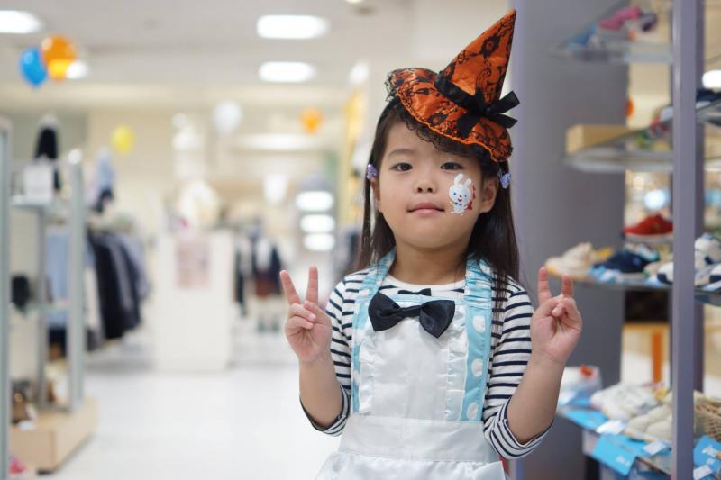 広島フェイスペイント組合-天満屋広島緑井店-ハロウィンキッズ2017-0031