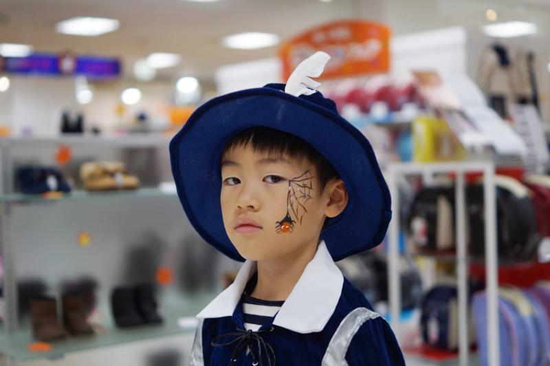 広島フェイスペイント組合-天満屋広島緑井店-ハロウィンキッズ2017-0037