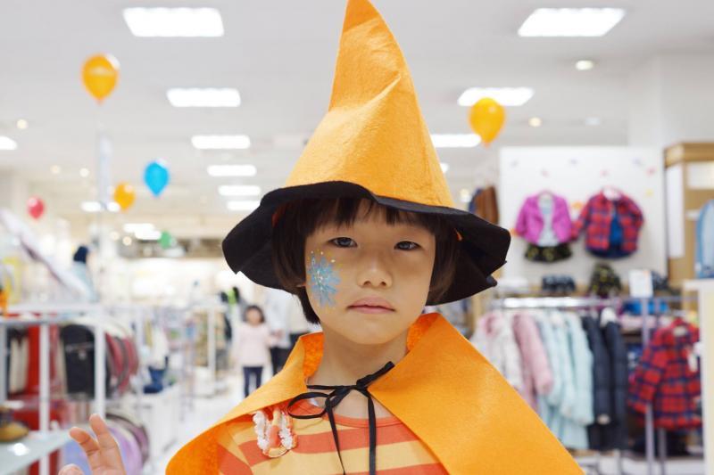 広島フェイスペイント組合-天満屋広島緑井店-ハロウィンキッズ2017-0047