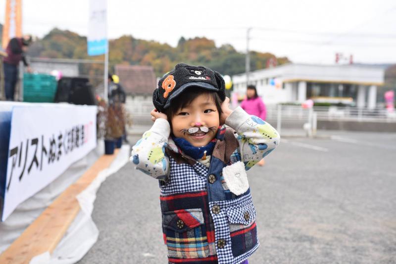 広島フェイスペイント組合-道の駅アリストぬまくま-感謝祭2017-002