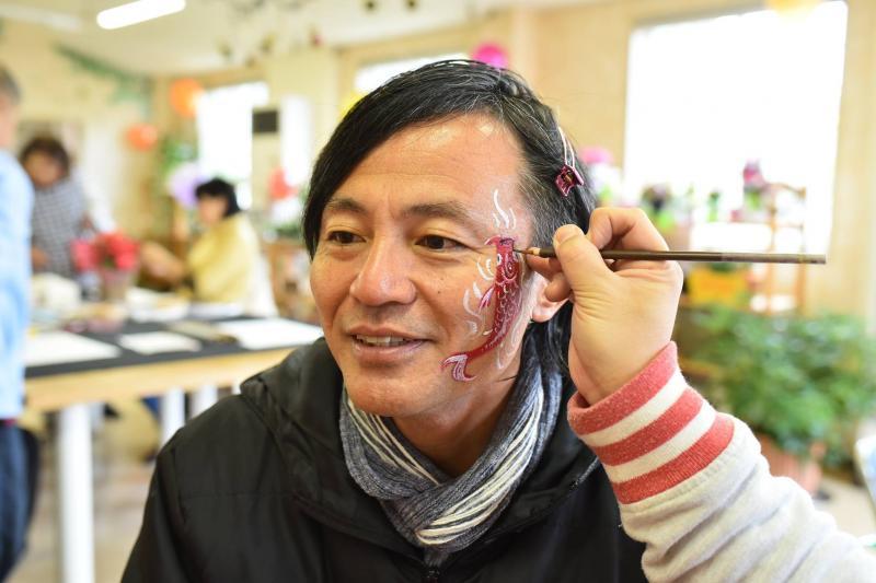 広島フェイスペイント組合-道の駅アリストぬまくま-感謝祭2017-004