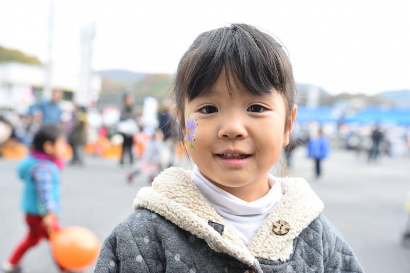 広島フェイスペイント組合-道の駅アリストぬまくま-感謝祭2017-012