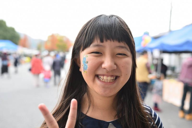 広島フェイスペイント組合-道の駅アリストぬまくま-感謝祭2017-013