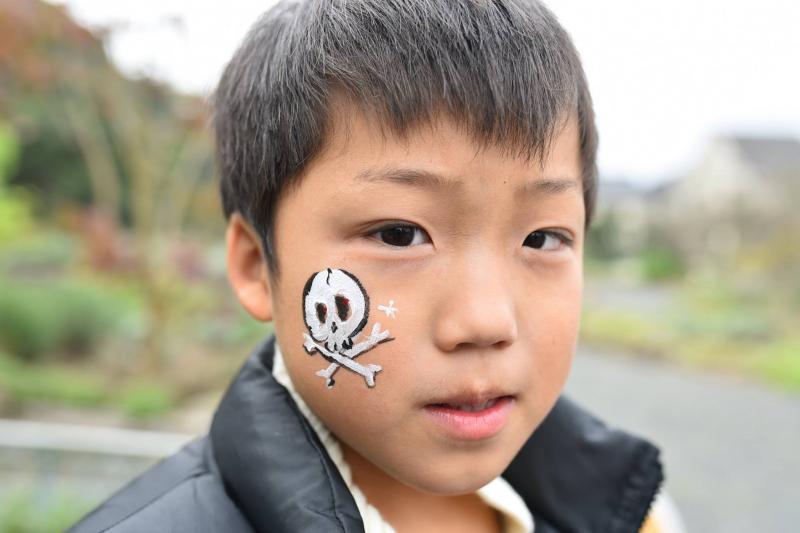 広島フェイスペイント組合-道の駅アリストぬまくま-感謝祭2017-022