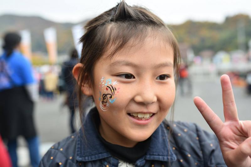 広島フェイスペイント組合-道の駅アリストぬまくま-感謝祭2017-040