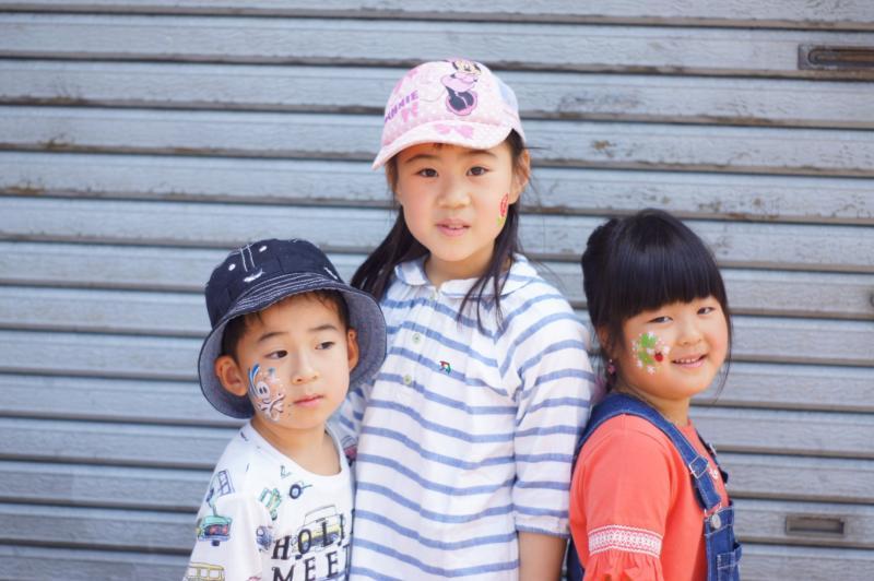 広島フェイスペイント組合-第23回横川ふしぎ市-0013
