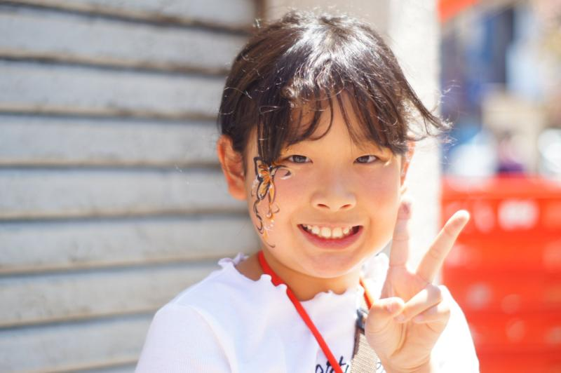 広島フェイスペイント組合-第23回横川ふしぎ市-0040
