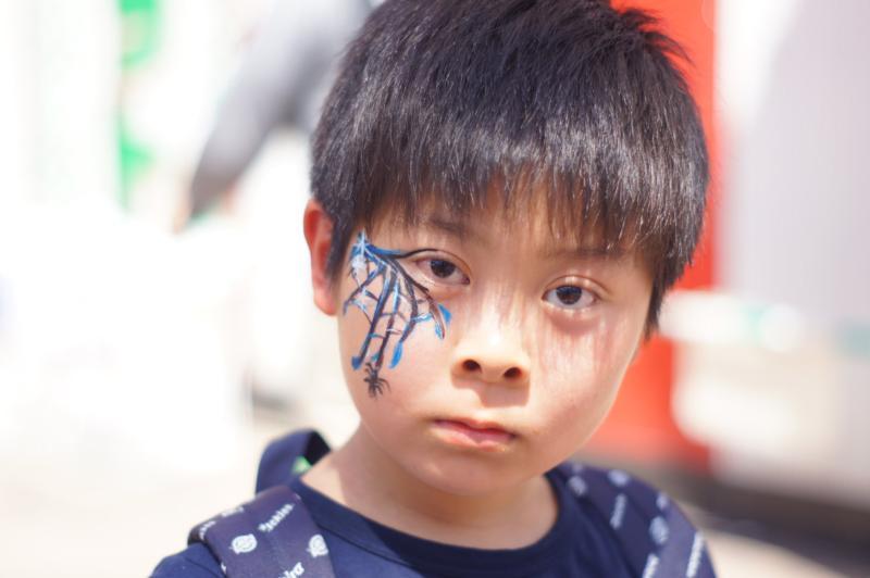 広島フェイスペイント組合-第23回横川ふしぎ市-0047