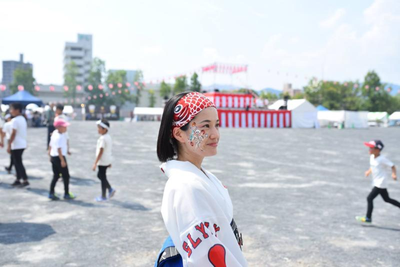 広島フェイスペイント組合-ひろしま盆ダンス-001