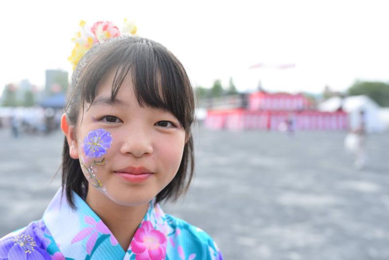 広島フェイスペイント組合-ひろしま盆ダンス-0026