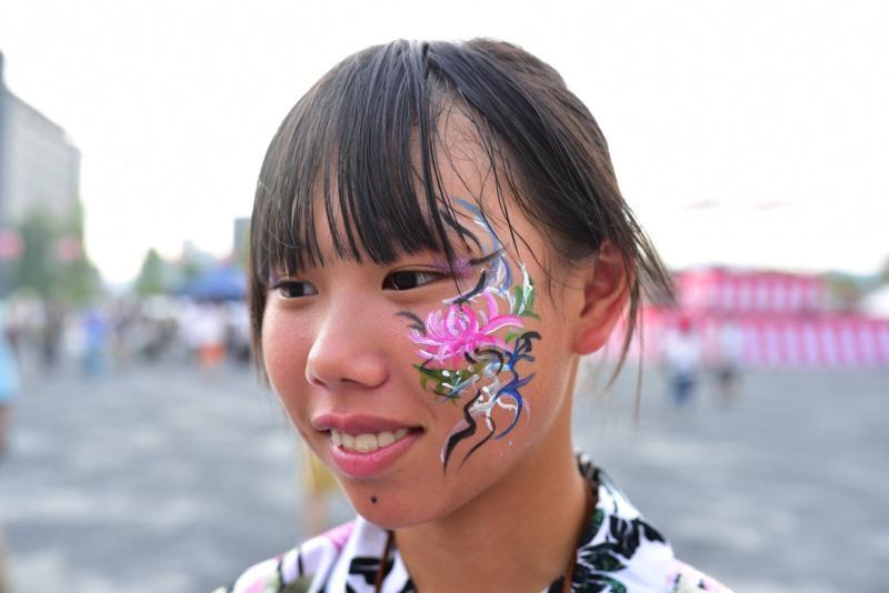 広島フェイスペイント組合-ひろしま盆ダンス-0028