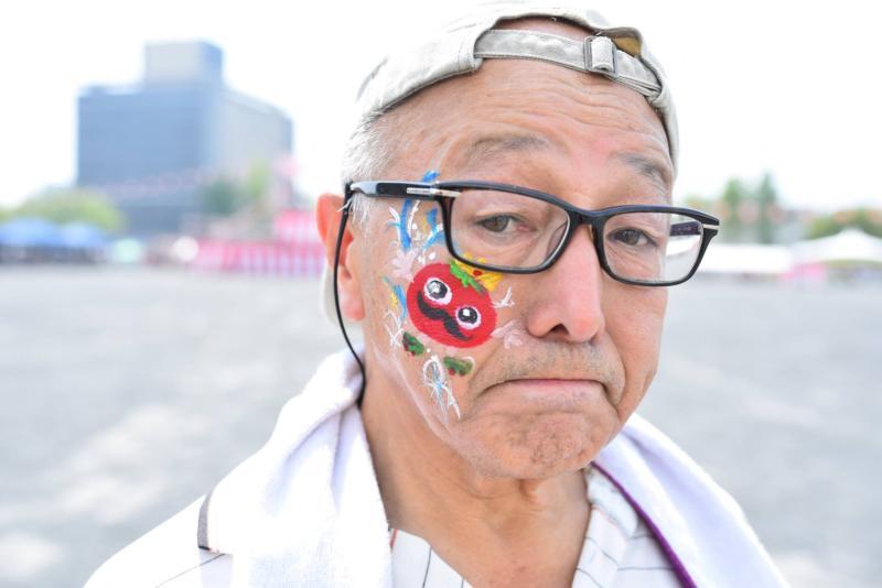 広島フェイスペイント組合-ひろしま盆ダンス-003