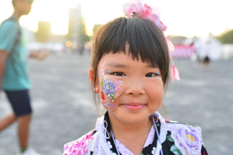 広島フェイスペイント組合-ひろしま盆ダンス-0040
