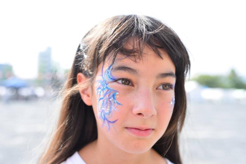 広島フェイスペイント組合-ひろしま盆ダンス-007