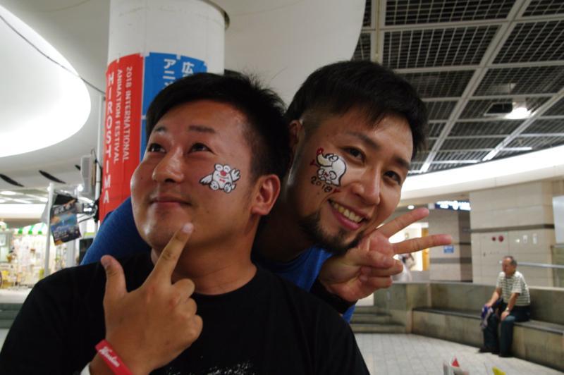 広島フェイスペイント組合-アニフェス前夜祭-03
