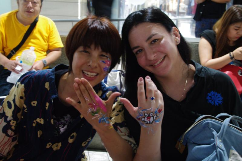 広島フェイスペイント組合-アニフェス前夜祭-04