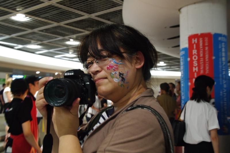 広島フェイスペイント組合-アニフェス前夜祭-06