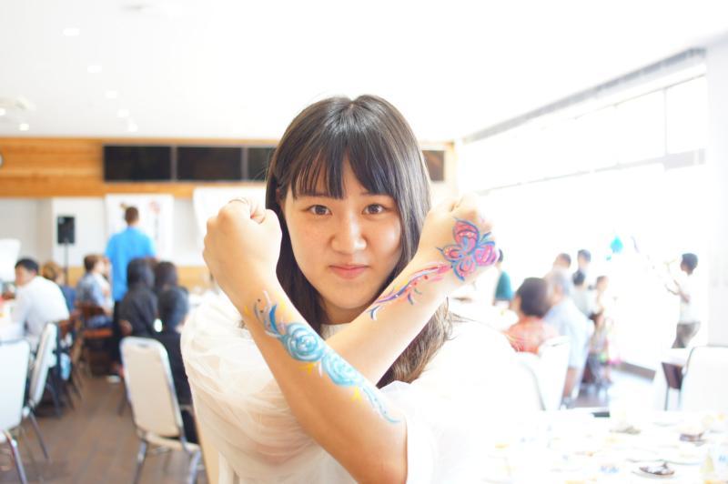 広島フェイスペイント組合-広島鯉城ライオンズクラブ 家族例会-016