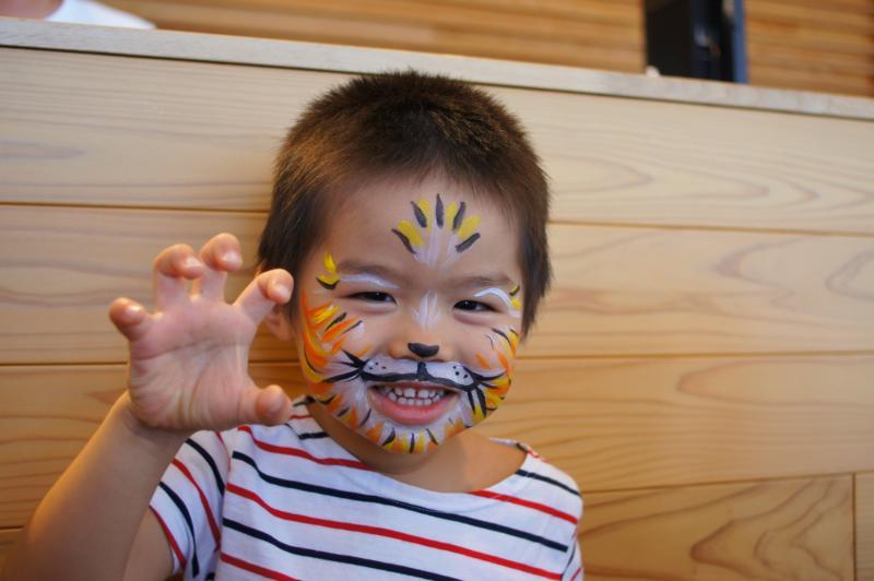 広島フェイスペイント組合-広島鯉城ライオンズクラブ 家族例会-02