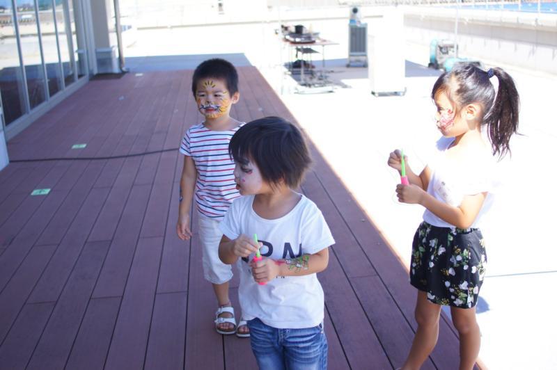 広島フェイスペイント組合-広島鯉城ライオンズクラブ 家族例会-030