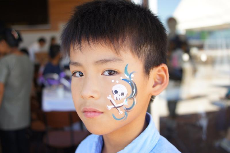 広島フェイスペイント組合-広島鯉城ライオンズクラブ 家族例会-031