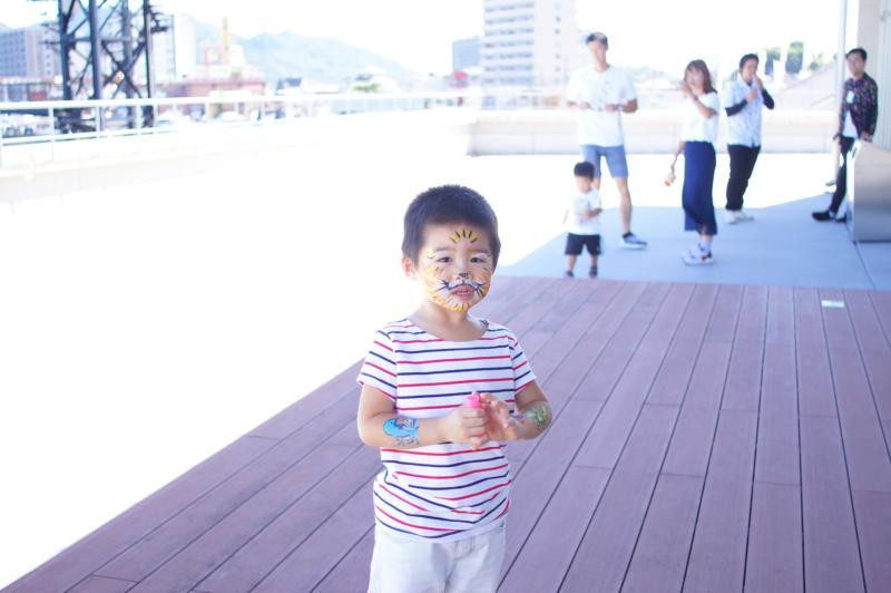 広島フェイスペイント組合-広島鯉城ライオンズクラブ 家族例会-032