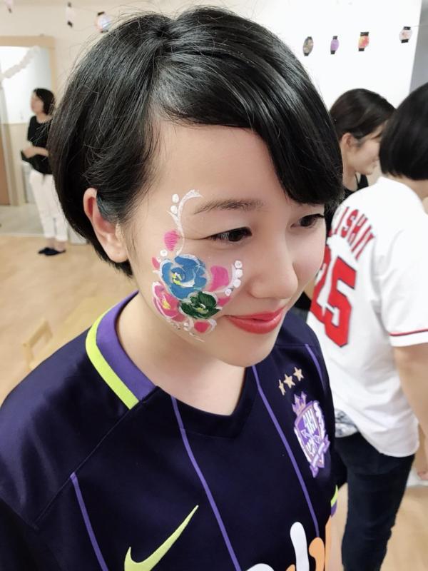 広島フェイスペイント組合-くすの木保育園夕涼み会-018