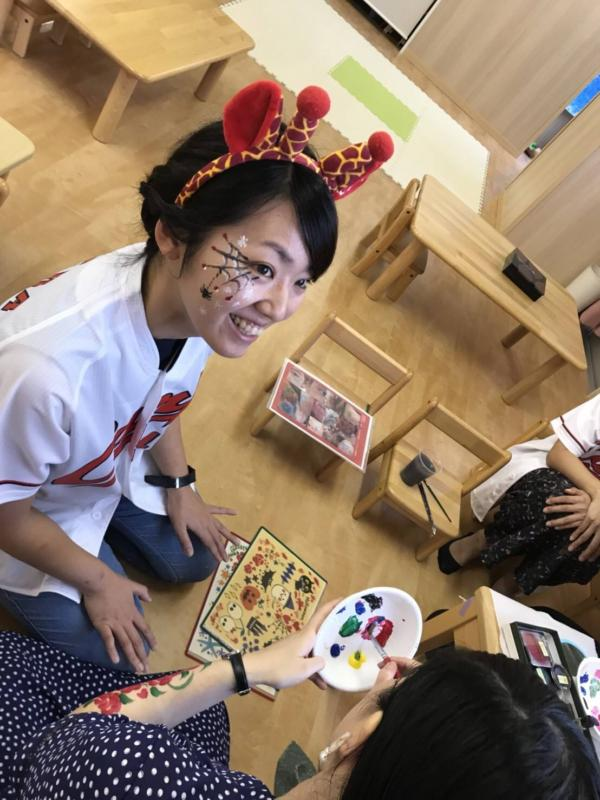 広島フェイスペイント組合-くすの木保育園夕涼み会-029