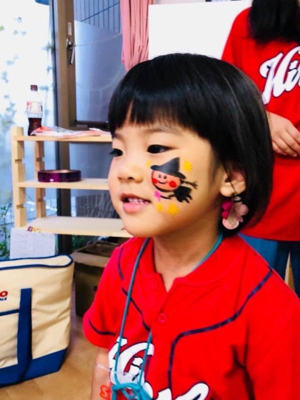 広島フェイスペイント組合-くすの木保育園夕涼み会-04