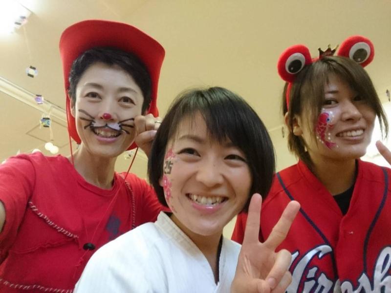 広島フェイスペイント組合-くすの木保育園夕涼み会-06