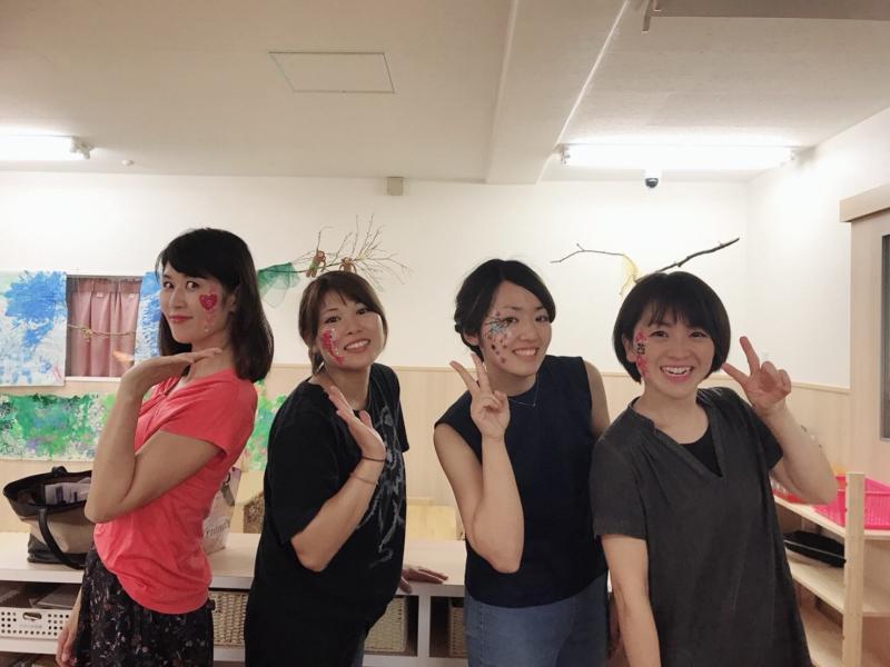 広島フェイスペイント組合-くすの木保育園夕涼み会-07