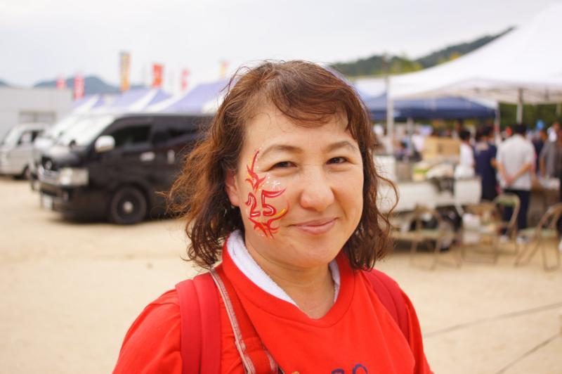 広島フェイスペイント組合-第84回筆まつり-0041