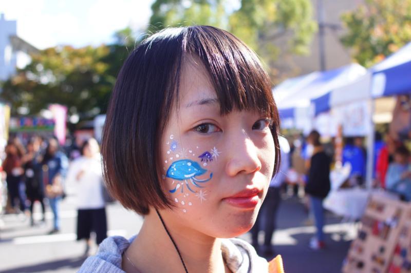 広島フェイスペイント組合-第52回比治山祭1日目-002