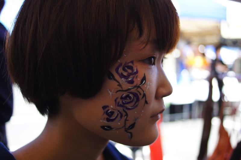 広島フェイスペイント組合-第52回比治山祭1日目-0027