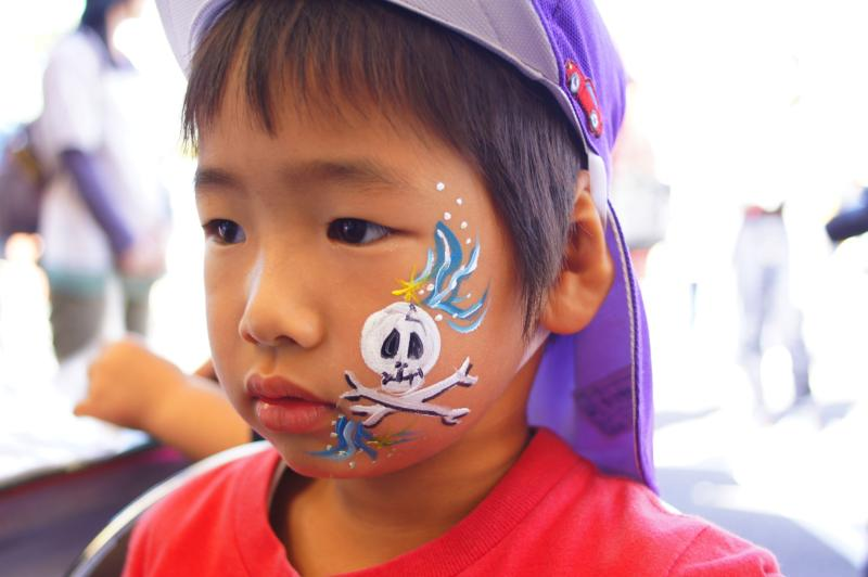 広島フェイスペイント組合-第52回比治山祭1日目-0037