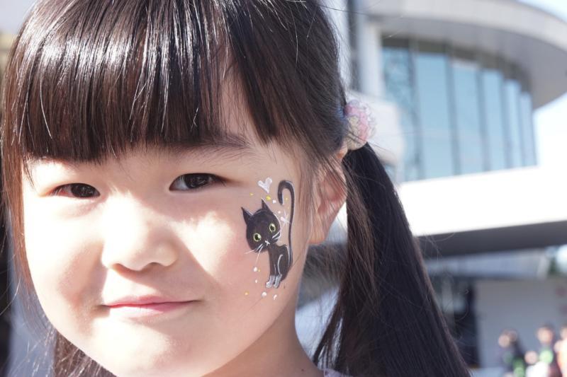 広島フェイスペイント組合-第52回比治山祭2日目-013