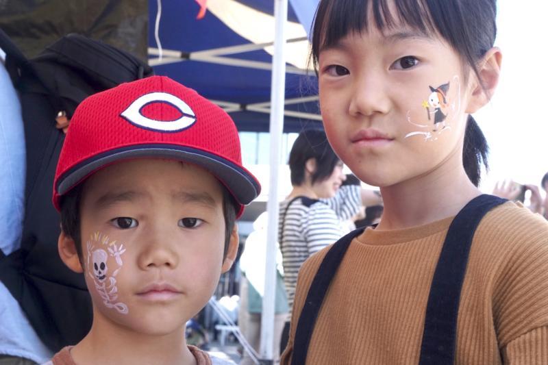 広島フェイスペイント組合-第52回比治山祭2日目-025