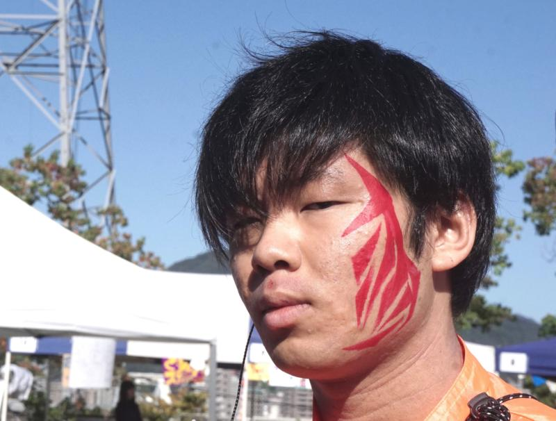 広島フェイスペイント組合-第52回比治山祭2日目-06