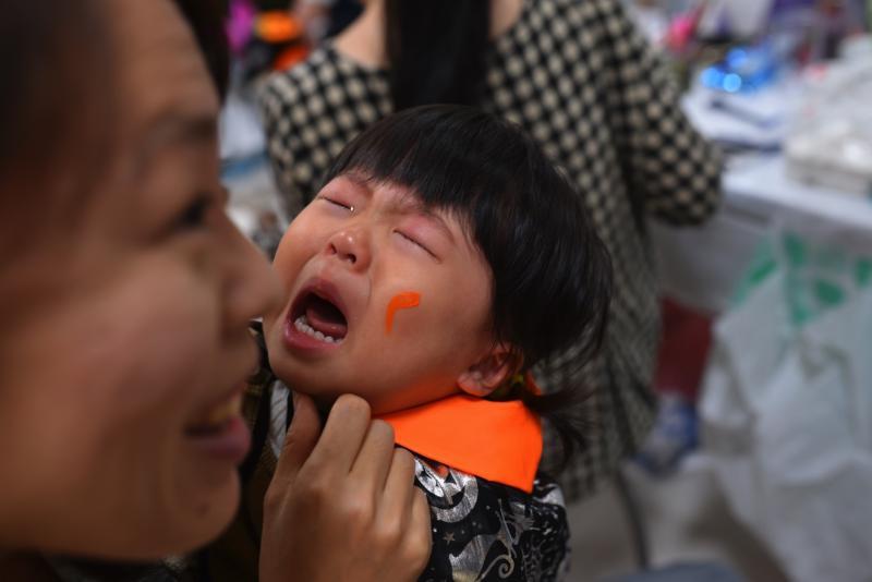 広島フェイスペイント組合-天満屋広島緑井店ハロウィンイベント!!-0010