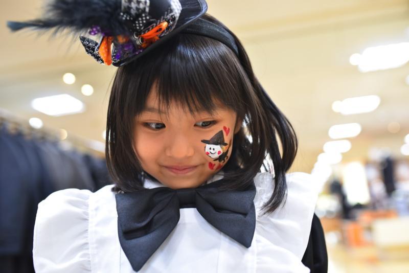 広島フェイスペイント組合-天満屋広島緑井店ハロウィンイベント!!-0014