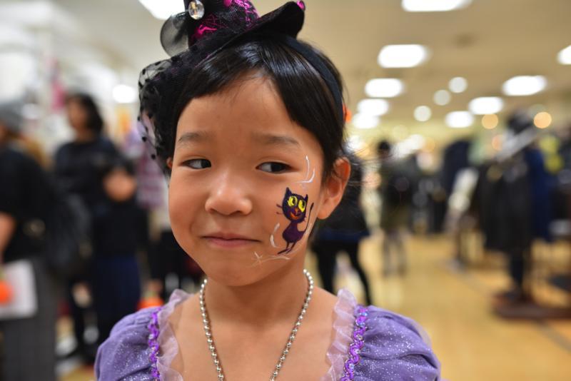 広島フェイスペイント組合-天満屋広島緑井店ハロウィンイベント!!-0019